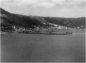 Ref No: CP038 Titel: Simons Town - Late 1940's width=230